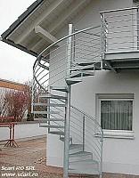 Producator scari exterioare - zincate termic