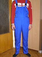 Salopeta - bluza si pantalon cu pieptar