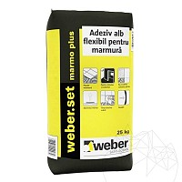 Adeziv Marmura si Granit - Weber Marmo Plus - 25kg