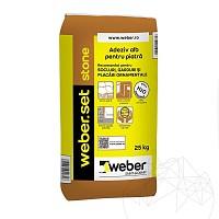Adeziv Piatra Naturala - Weber Set Stone - 25kg