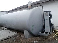 Rezervor motorina 20000 litri cu perete dublu