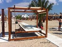 Balansoare plaja din lemn