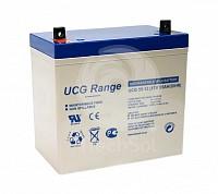Baterie (acumulator) GEL Ultracell UCG55-12, 55Ah, 12V, deep