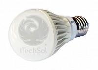 Bec LED 5W 12V E27 cu lumina calda