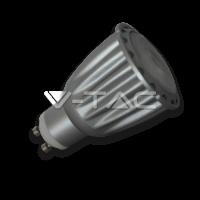 Bec Spot LED – 7W GU10 Sharp COB Chip Alb Rece