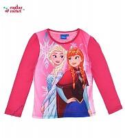 Bluza Frozen pentru Fetite, marca Disney cu Anna si Elsa