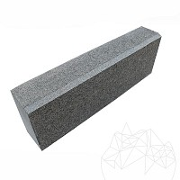 Bordura Granit Gri Antracit (Bizotata 1L - 2cm) 10 x 15 x 50