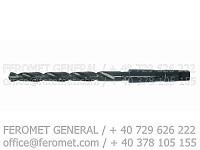 Burghiu coada conica cu racire interna DIN 341