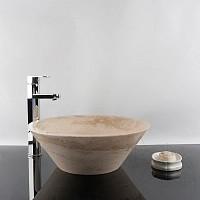 Chiuveta baie travertin Classic RS-8, 42 x 15 cm