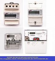 Contor electronic monofazat