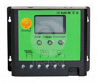 Controller solar de incarcare PWM cu ecran LCD, 40A, 12/24V,