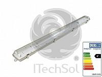 Corp de iluminat cu tub  LED  impermeabil  230V 2x40W 120 cm