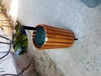 Cos de gunoi cu capac metalic din tabla