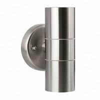 DispozitiVolt de iluminat exterior, 2xGU10, IP44, argintiu