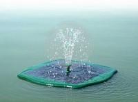 Fantana arteziana plutitoare, cu alimentare solara