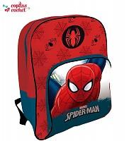 Ghiozdan 42 cm marca Marvel Spiderman (rosu-albastru)