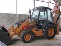 Inchiriere buldoexcavator Case 580 ST