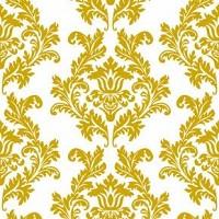 Servetele imprimate nunta aurii