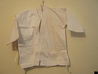 kimono Judo alb