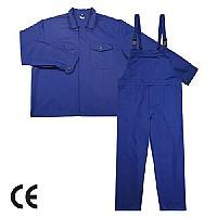 Costum salopeta cu pieptar din tercot sau doc