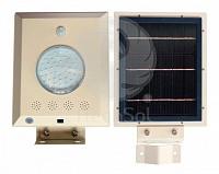 Lampa stradala LED, cu panou solar 12W si acumulator Li-Ion