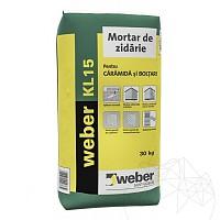 Mortar de zidarie - Weber KL15 - 30kg
