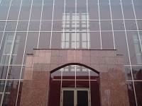 Pereti cortina din aluminiu cu sticla