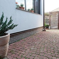 Piatra Cubica Sandstone Rosu Vidin Natur 10 x 10 x 5cm (1ton