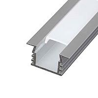 Profil de aluminiu pentru benzi flexibile cu LED, suprafata