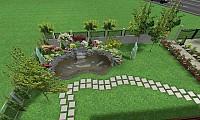 Proiectare gradini si spatii verzi 3D si 2D - Proiectare Gra
