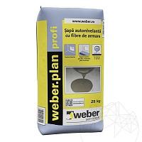 Sapa autonivelanta cu fibre de armare - Weber.Plan Profi - 2