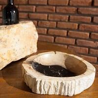 Scrumiera Fossil (Lemn pietrificat)