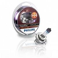 Set becuri H4 VISION PLUS PHILIPS BAV-730036