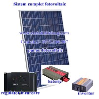 Sistem complet panouri solare fotovoltaice
