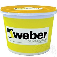 Tencuiala decorativa silicatica - Weber.Pas Silicate 25kg