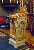 Tetrapod lemn de stejar sculptat manual