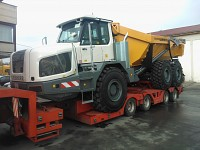 Transport combine agricole - Transport agabaritic
