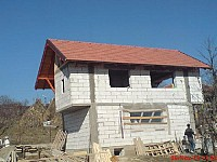 Constructie case la rosu Timisoara