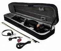 Vioara Electrica Harley Benton HBV 840BK 4/4 Electric Violin
