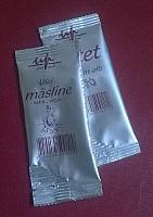 ulei masline portionat in plic - 7 ml