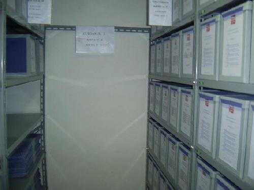 Raft arhiva cu 5 polite metalice
