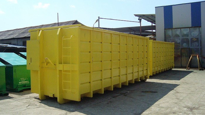 Container Abroll cu capac