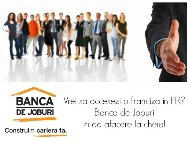 Franciza de resurse umane Banca de Joburi