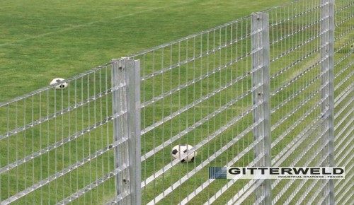 Gard metalic pentru baze sportive