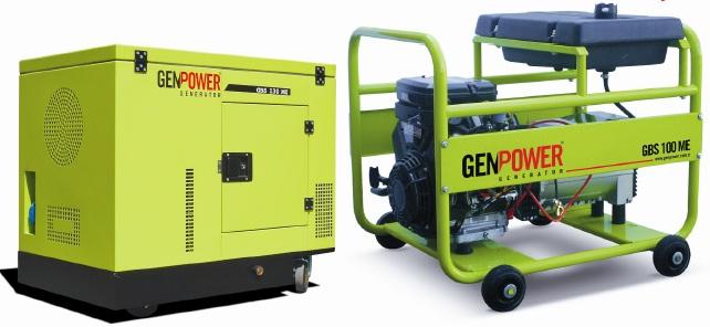 Generatoare electrice pe benzina GBS 150 TE