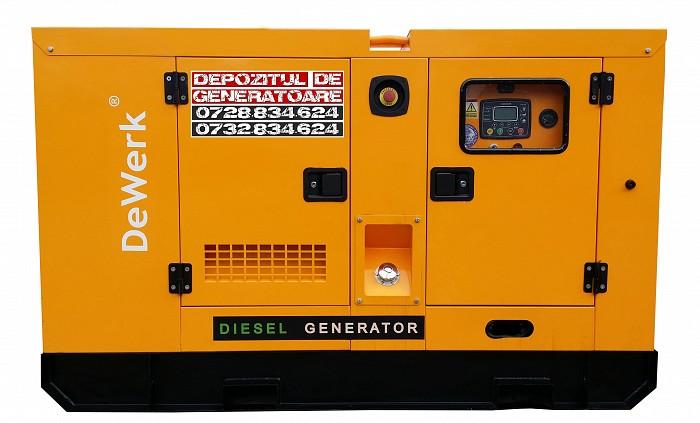Generator curent electric DeWerk Rezidential ESE 17 DWR, 17