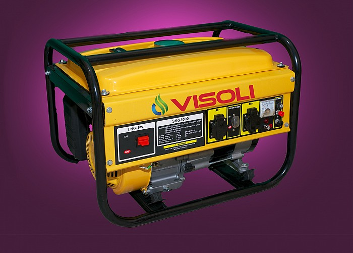 Inchiriere generator de curent electric 3kva Visoli