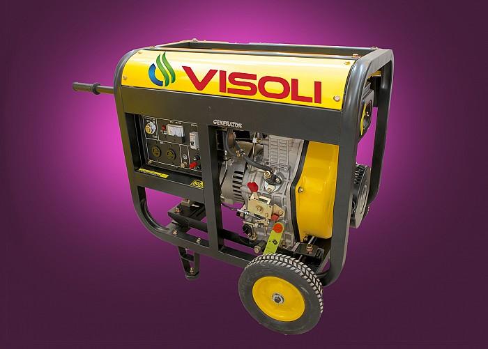 Inchiriere generator de curent electric diesel 8kva