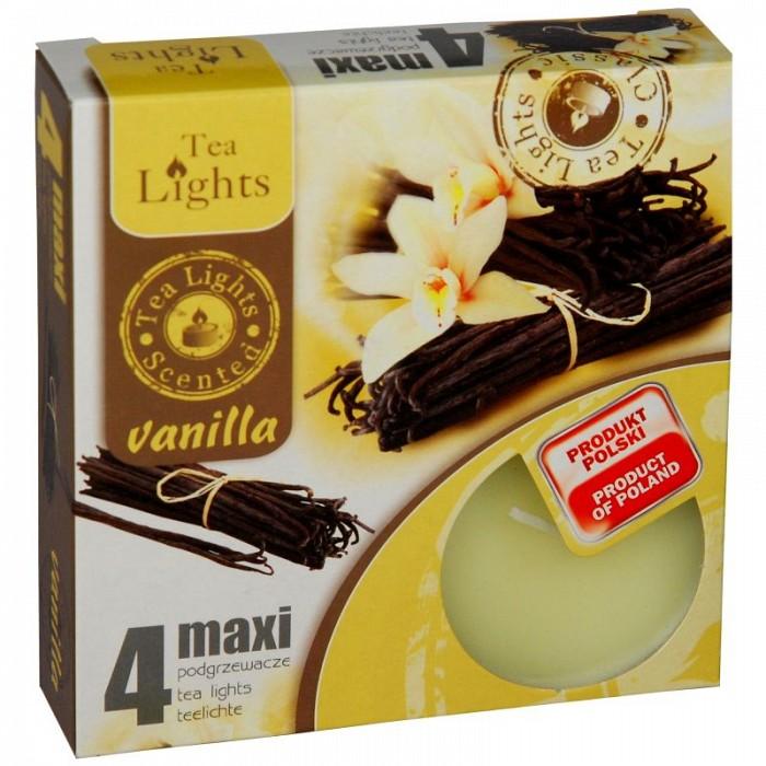 Lumanari parfumate cu aroma de vanilie