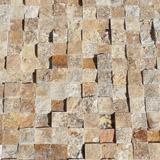 Mozaic Travertin Yellow 3D